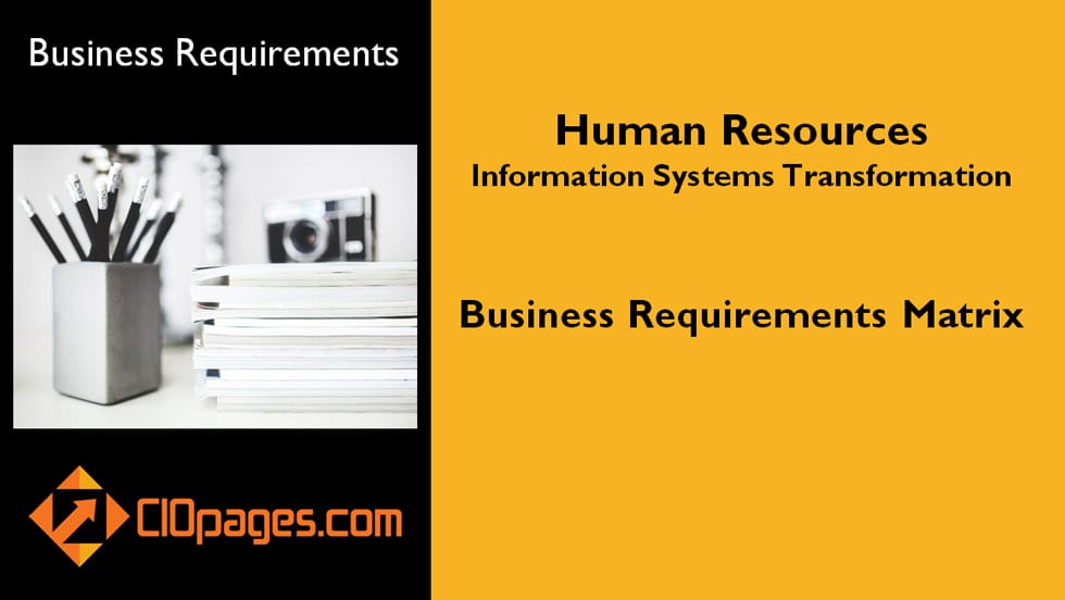 HR Transformation Business Requirements
