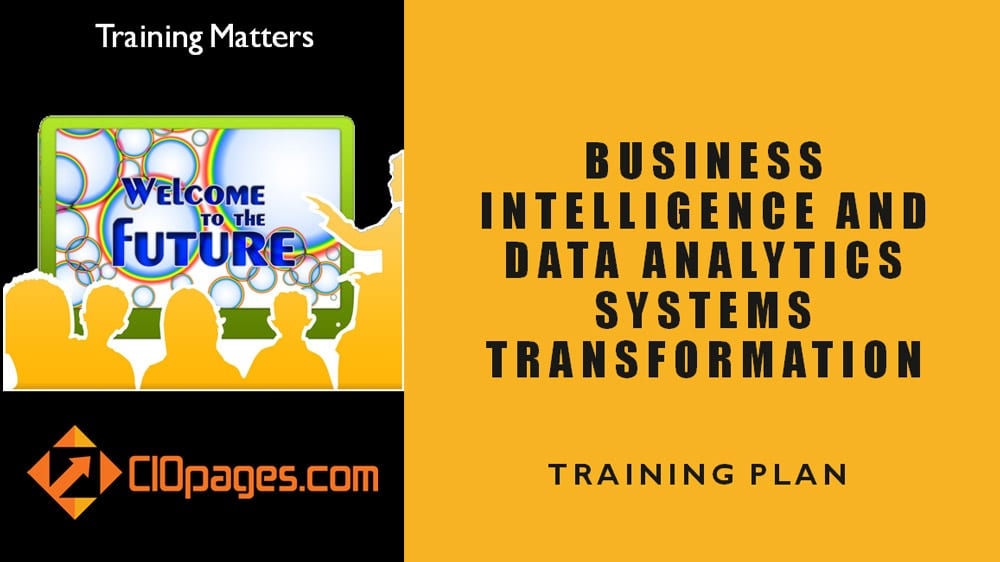 Business Intelligence Transformation Training plan