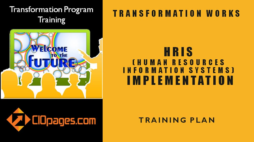 Human Resources Transformation Training Plan