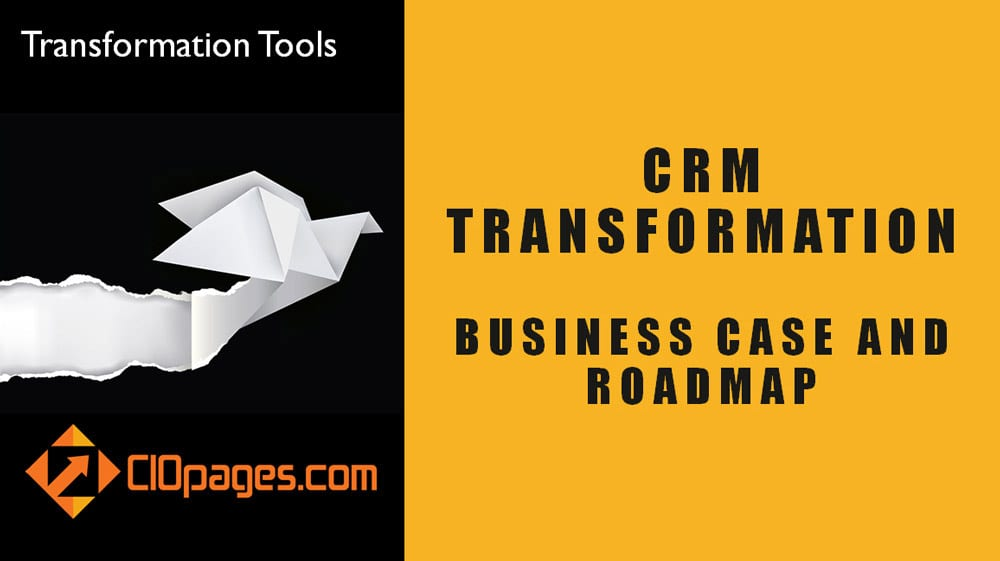 CRM Transformation – Sample Business Case and Roadmap