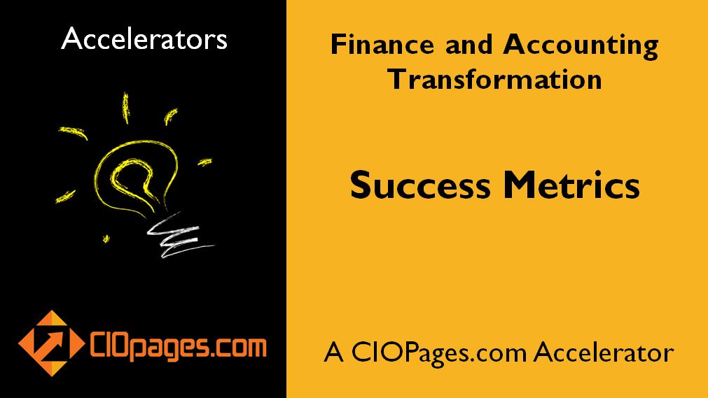 Finance Transformation Success Metrics