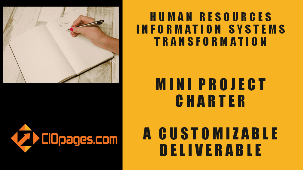 HR Transformation Mini Project Charter