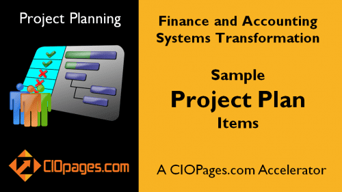 Finance Transformation Project Plan