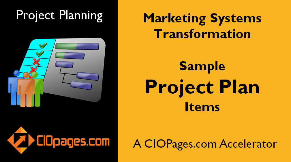 Marketing Software Implementation Customizable Project Plans
