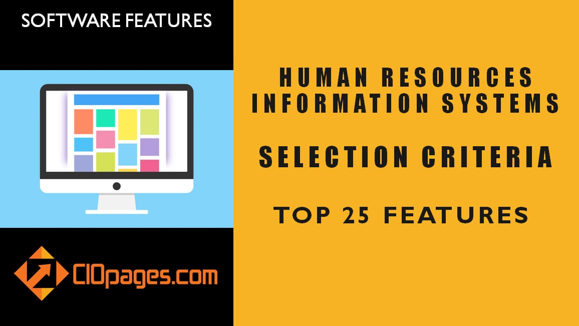 HR Software Top 50 Features: Selecting human resources software
