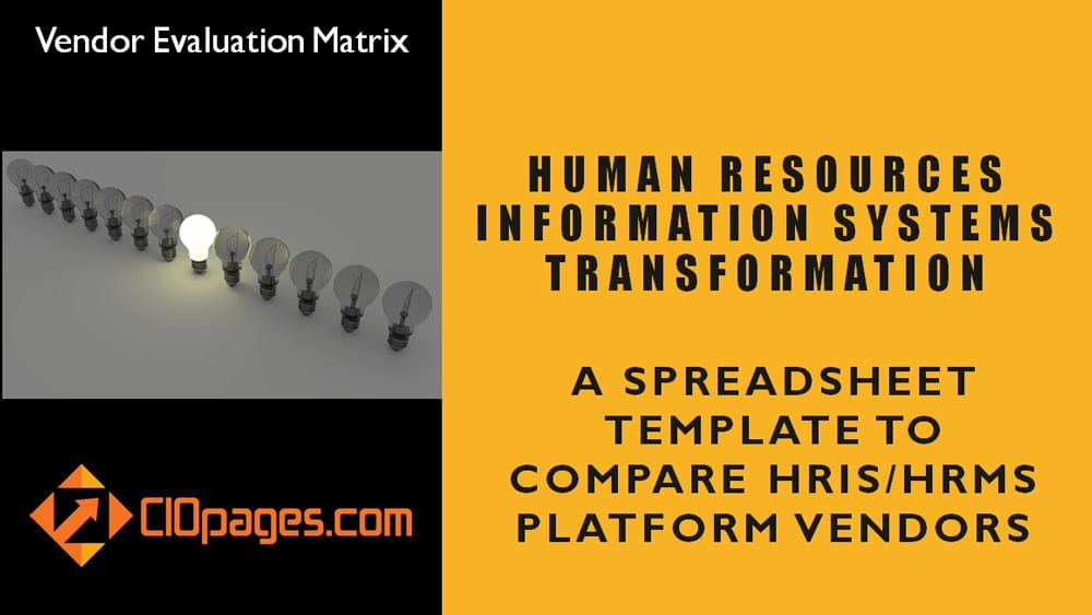 HR Software Vendor Evaluation Matrix