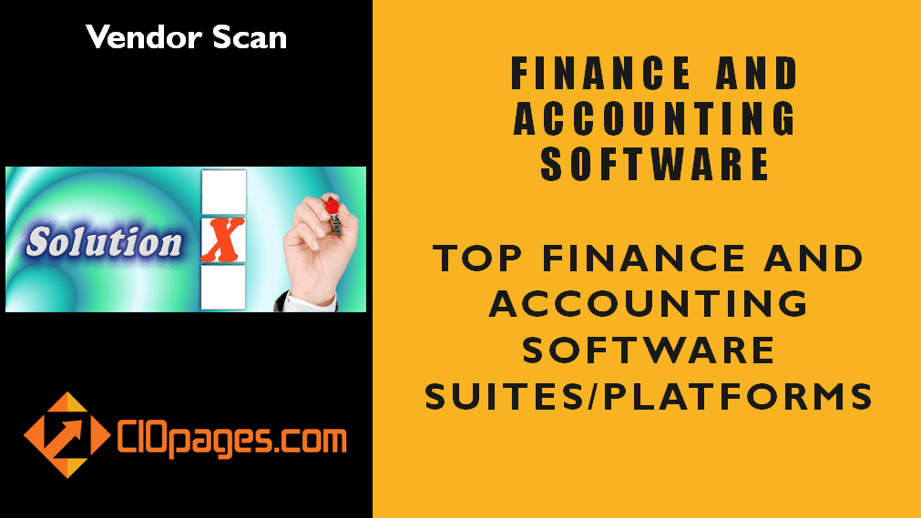 Finance Transformation Software Vendor Profiles