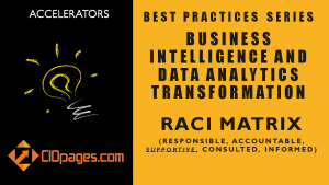 Business Intelligence Project Management RACI Matrix