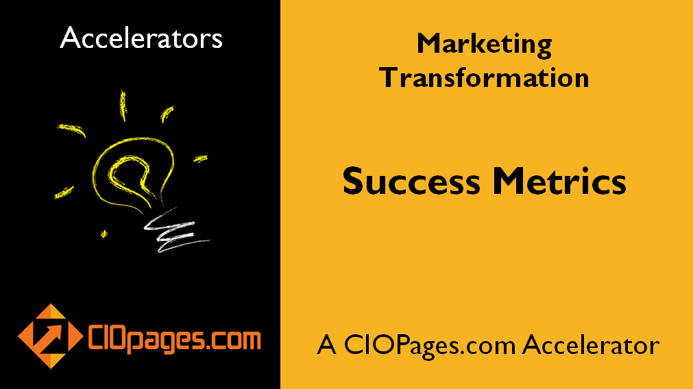 Marketing Transformation Success Metrics