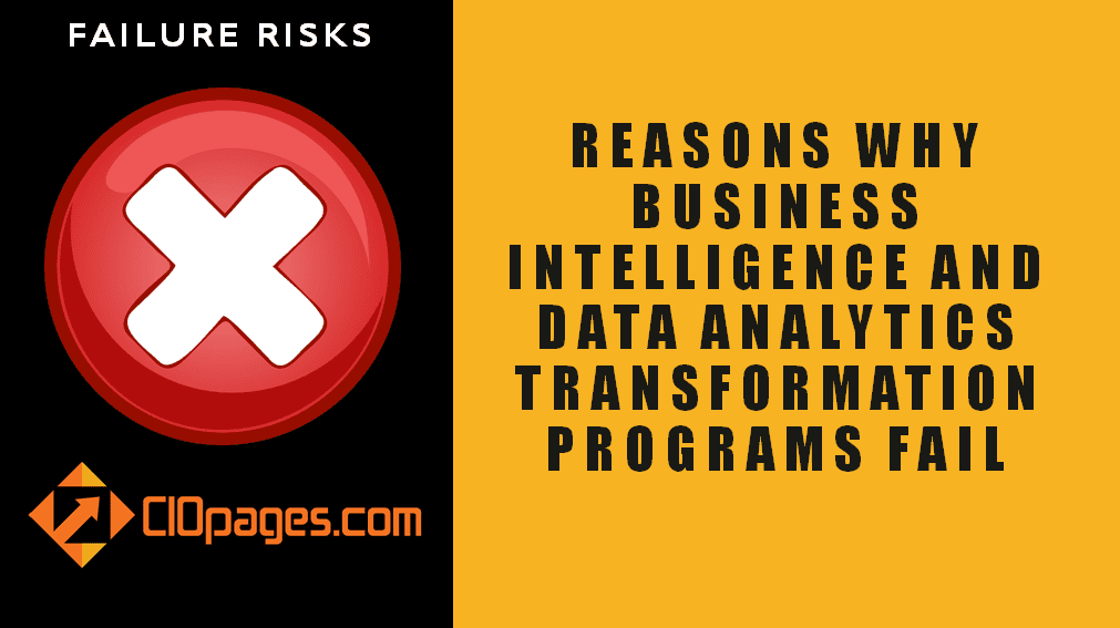 Why Business Intelligence Transformation Projects Fail?