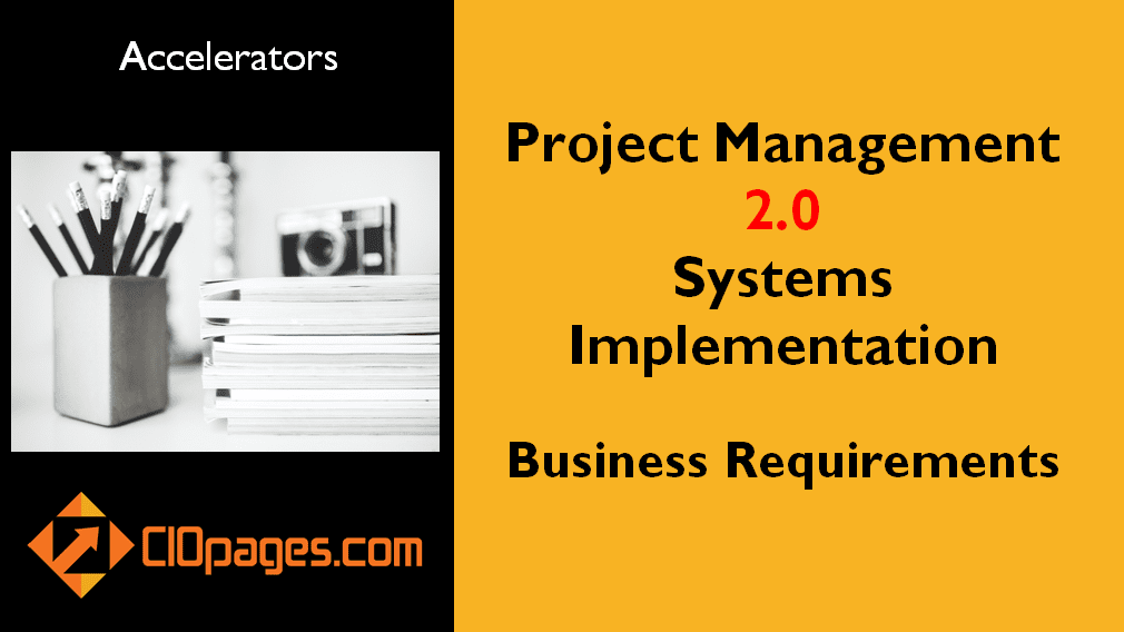Project Management Business Requirements