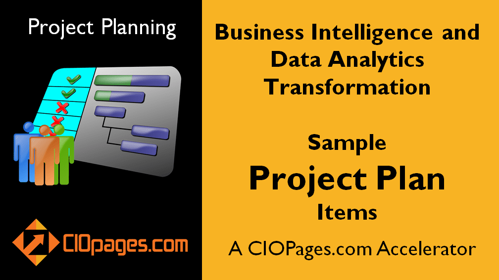 Business Intelligence Customizable Project Plans