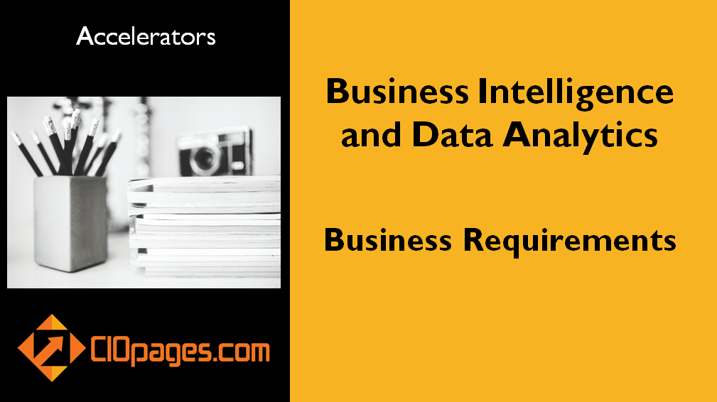 Data Analytics and Business Intelligence Business Requirements