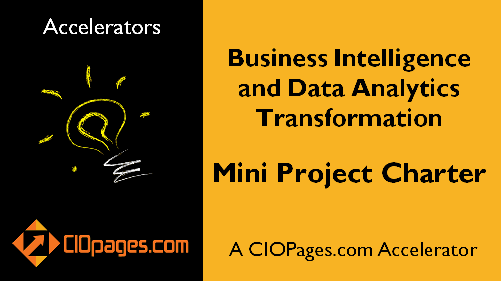 Data Analytics and Business Intelligence Transformation Mini Project Charter