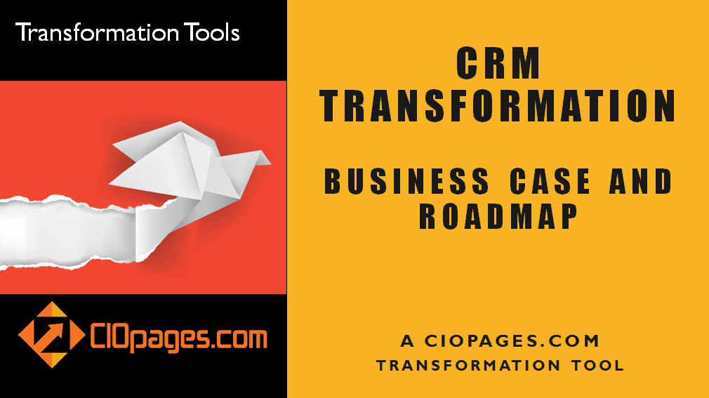 CRM Transformation Strategy and Roadmap