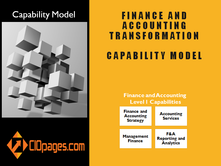 Finance and Accounting Business Capability Model