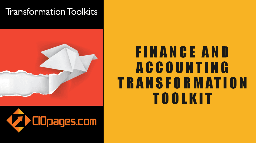 Finance and Accounting Transformation Toolkit