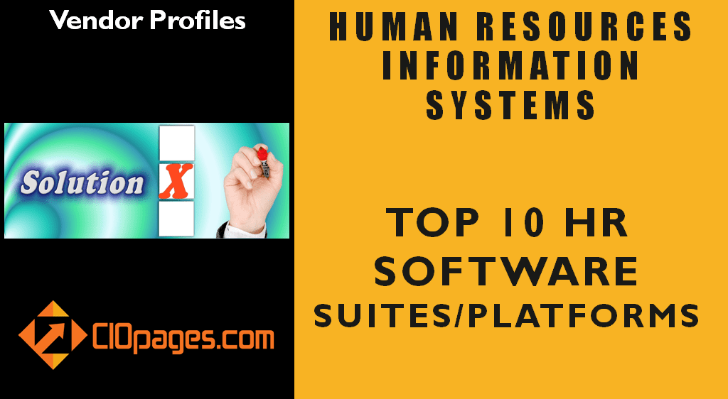 Human Resources Transformation Software Vendor Profiles