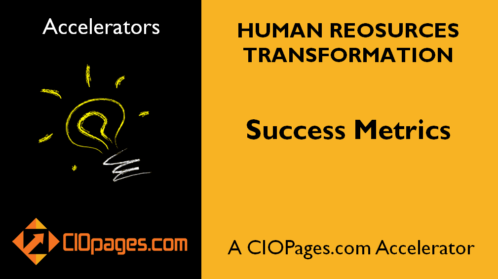 Human Resources Transformation Success Metrics