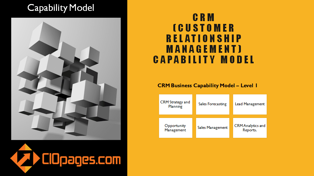 CRM Business Capability Model