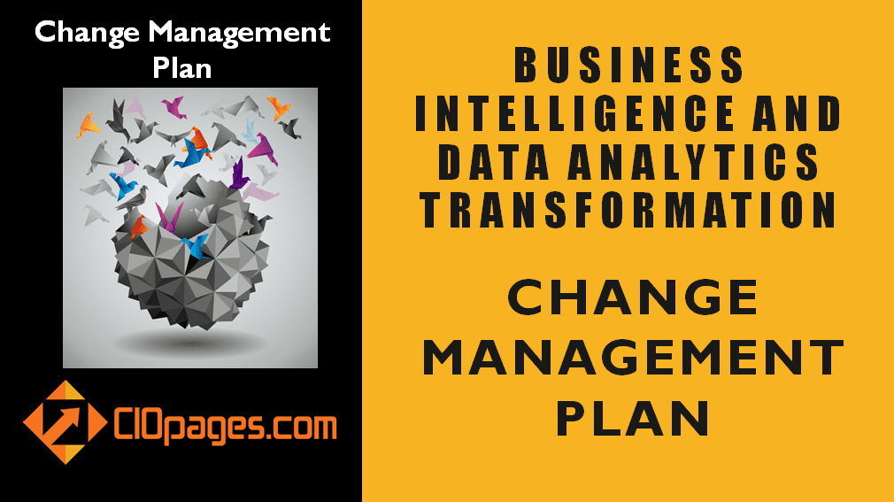 Business Intelligence Transformation Change Management Plan