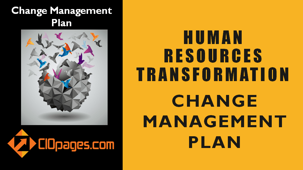 Human Resources Transformation Change Management Plan