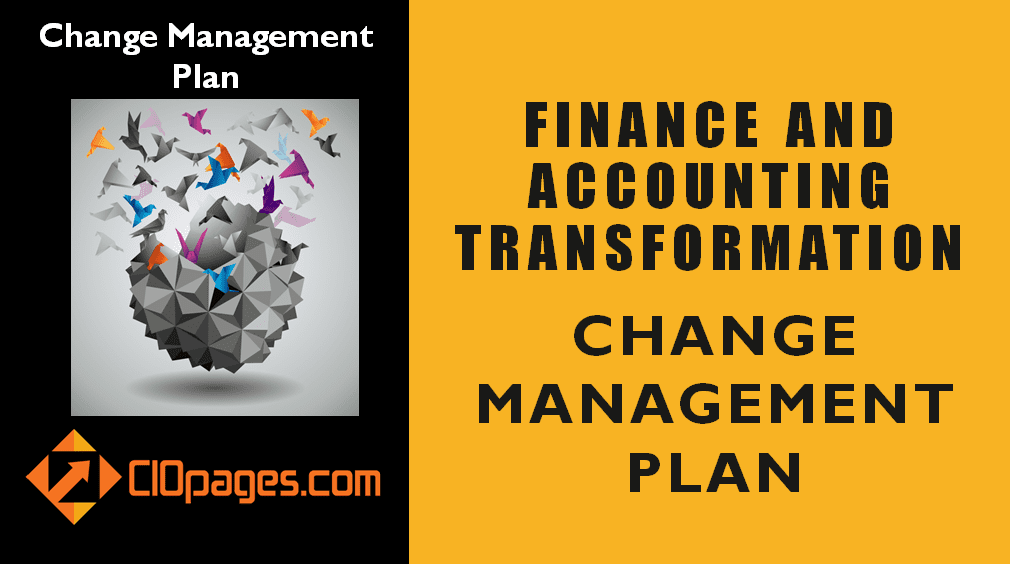 Finance Transformation Change Management Plan