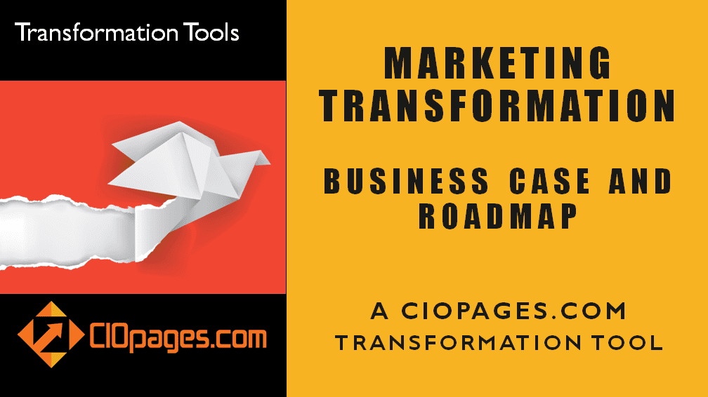 Marketing - Customizable Transformation Roadmaps