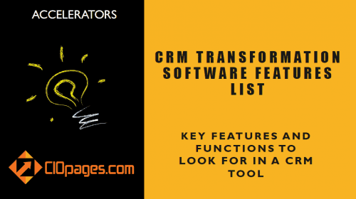Enterprise CRM Features List