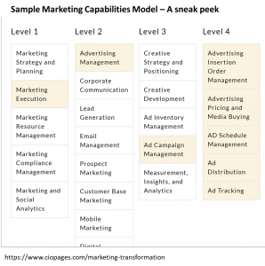 Marketing Capabilities Framework Sample